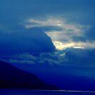 Shoreline in Blue by David Mann