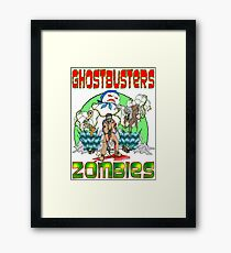 Zombie Ghostbusters Framed Print