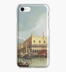 Canaletto - The Molo, Venice iPhone Case/Skin