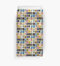 Playbill Collage Duvet Cover