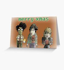 Die IT Crowd Weihnachtskarte Grußkarte