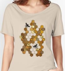 Golden Honeycomb Women's Relaxed Fit T-Shirt