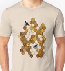 Golden Honeycomb T-Shirt
