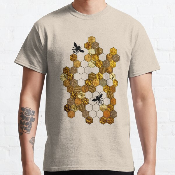 Golden Honeycomb Classic T-Shirt