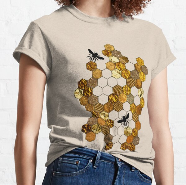 Golden Honeycomb Classic T-Shirt