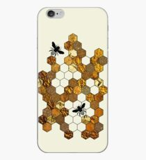 Golden Honeycomb iPhone Case
