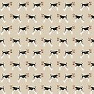 Wire Fox Terrier dog pattern dog lover gifts for dog person dog breeds pet friendly by PetFriendly by PetFriendly