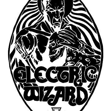 Electric Wizard - Lucifer (Black) by lnfernum