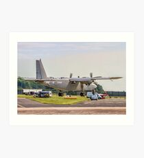 Pilatus Britten-Norman PBN-2T Islander AL.1 ZG846 Art Print