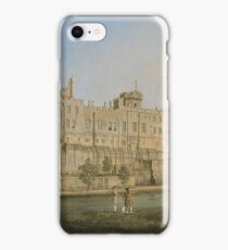 Canaletto - The South Facade Of Warwick Castle iPhone Case/Skin