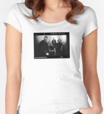 Black & White Photo by Big Bambora Women's Fitted Scoop T-Shirt