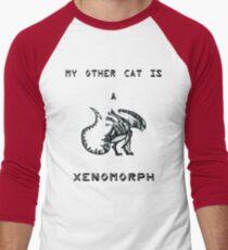 My Other Cat is a Xenomorph Men's Baseball ¾ T-Shirt