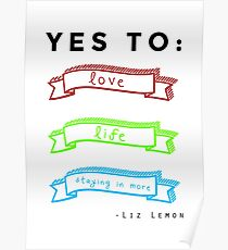 Love, Life, and Staying In More Poster