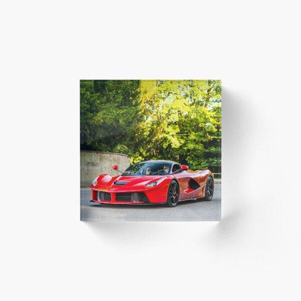Ferrari LaFerrari  Acrylic Block