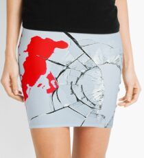 Crime scene Mini Skirt