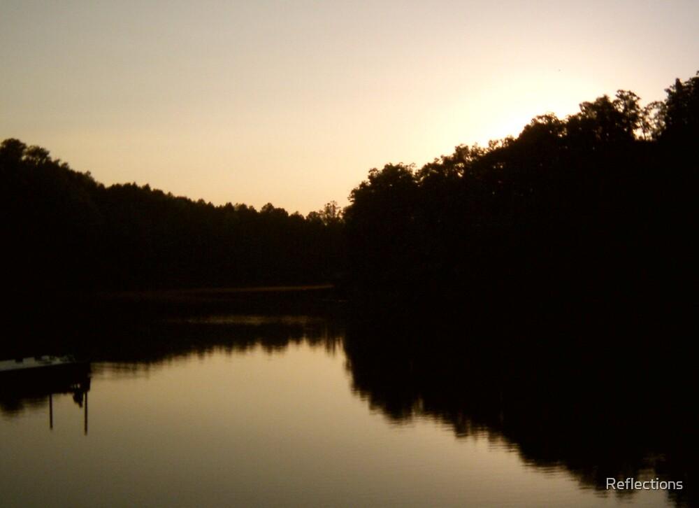 Yatesville Lake, Kentucky by Reflections