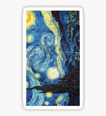 Starry Night- Vincent Van Gogh Sticker
