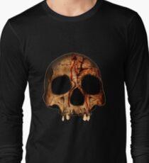 Bloody Skull Long Sleeve T-Shirt