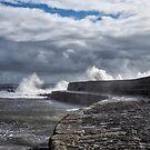 Stormy Weather - Lyme Regis by Susie Peek