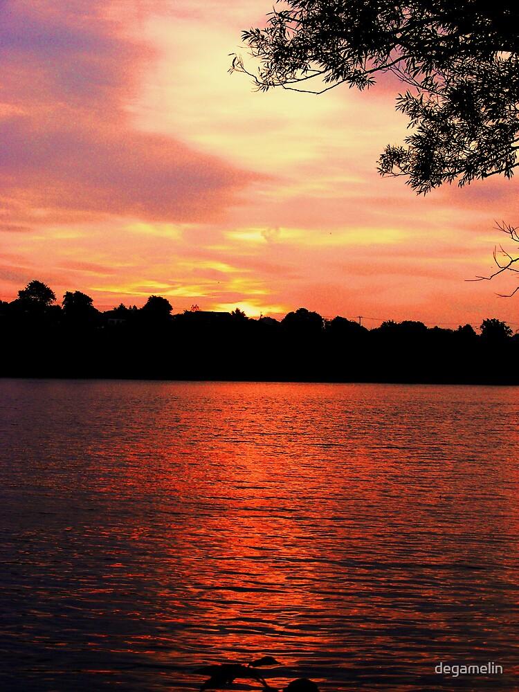 sunset moment by degamelin