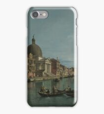 Canaletto - Venice - The Grand Canal With S. Simeone Piccolo iPhone Case/Skin