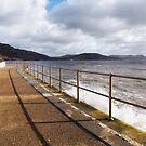 Seawall - Lyme Regis by Susie Peek