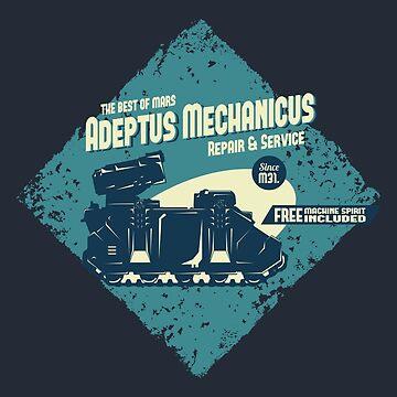 Adeptus Mechanicus - Whirlwind by moombax
