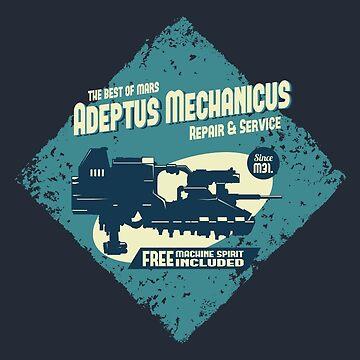 Adeptus Mechanicus - Landspeeder by moombax