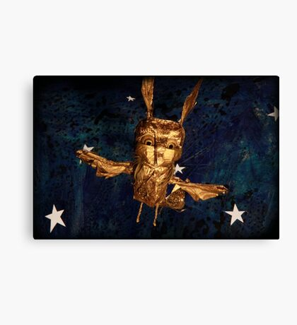 The Golden Bird Canvas Print