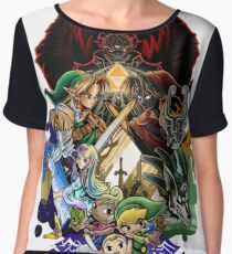 The Legend of Zelda Chiffon Top
