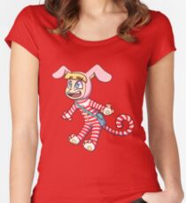 Popee Chibi Women's Fitted Scoop T-Shirt