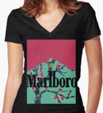 Arizona Malboro Women's Fitted V-Neck T-Shirt