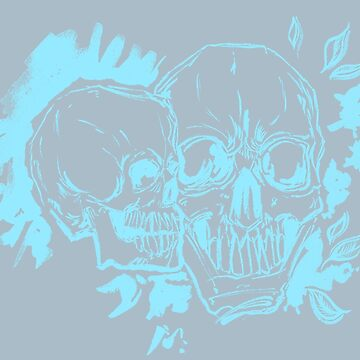 Dual Skulls by acompanyofn3rds