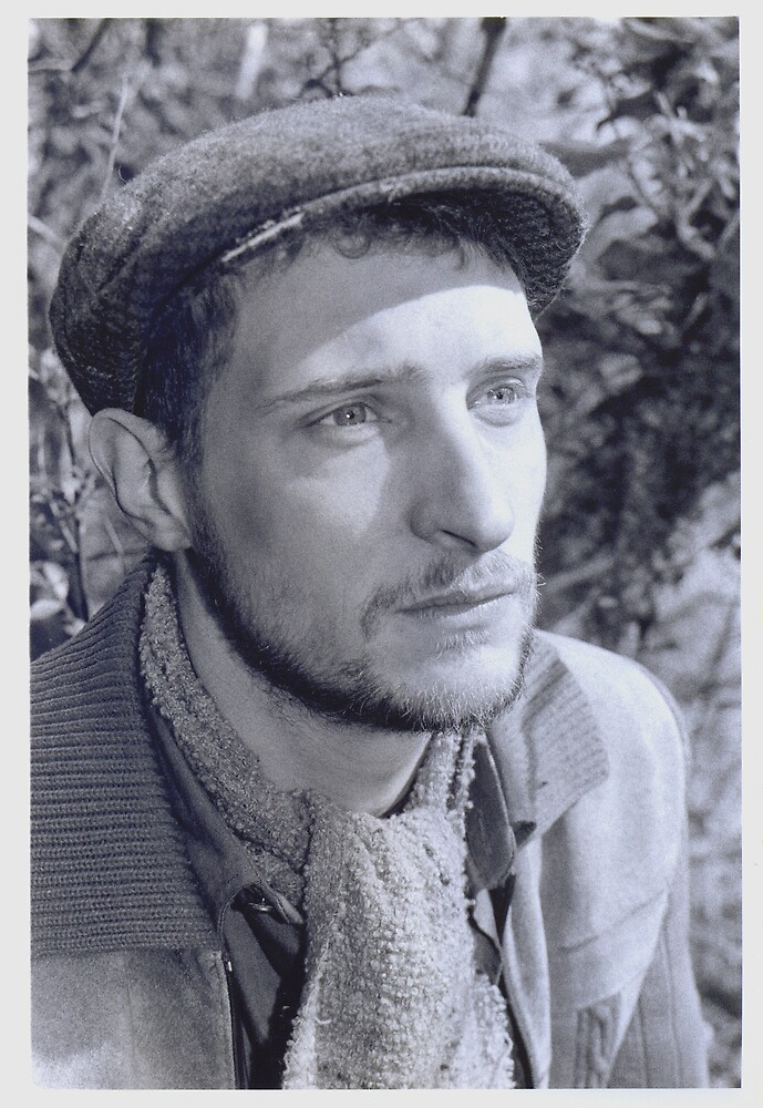 "David Muyllaert as Desmond in ""Dead Meat"" 2003 by Philip  Rogan"