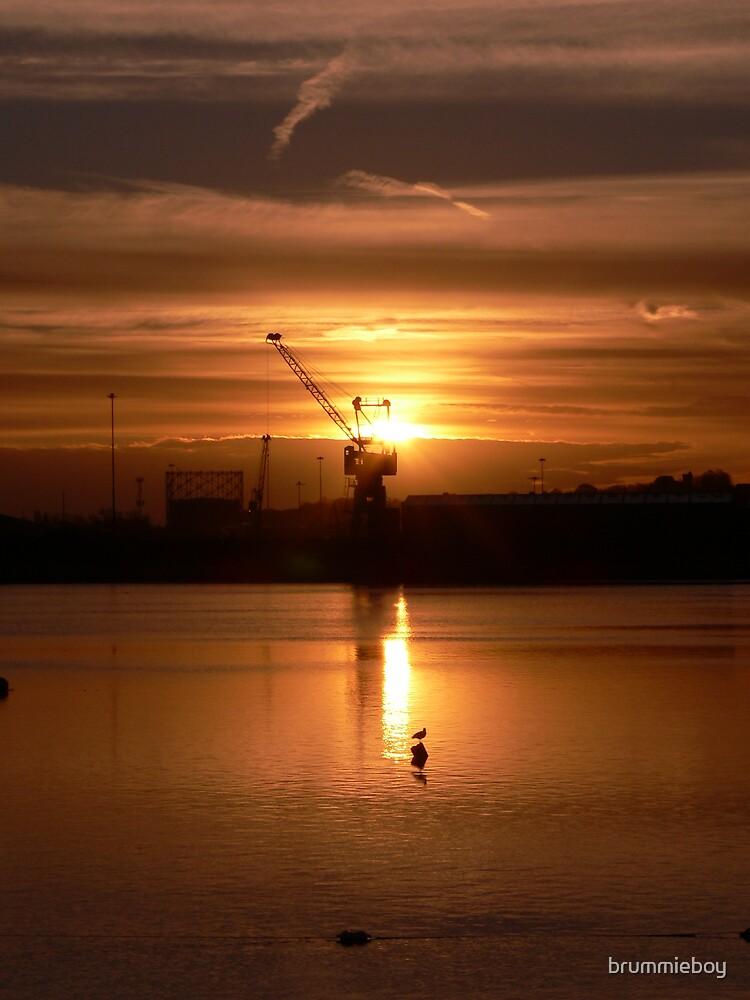 Industrial Sunrise (3) by brummieboy
