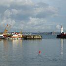 Newlyn Harbour 2 by George Crawford