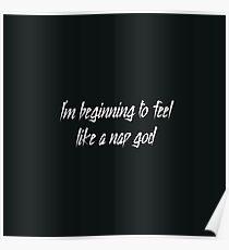 Nap God joke parody Poster