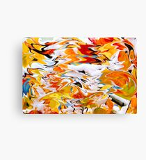 Psychedelic Coloration Canvas Print