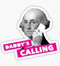 Papas Anruf Sticker