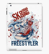 Urbain Skating Freestyle - Skateboarding iPad Case/Skin