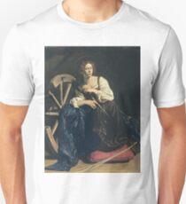 Caravaggio - Saint Catherine Of Alexandria Unisex T-Shirt