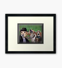 Dogs Are People Too! Framed Print