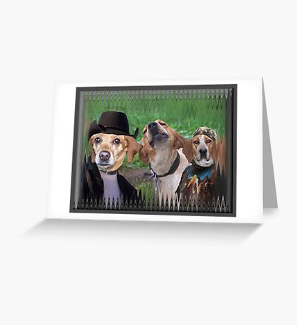 Dogs Are People Too! Greeting Card