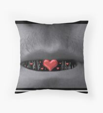 He Spoke With His Heart Throw Pillow