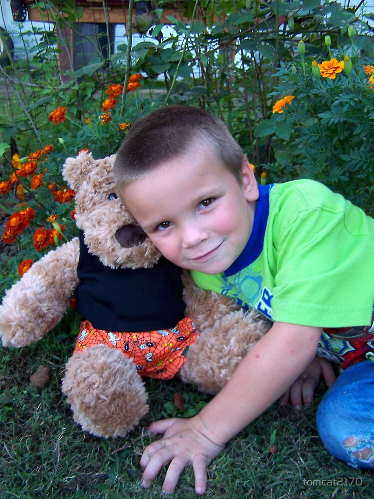 my son and my bear bear by tomcat2170