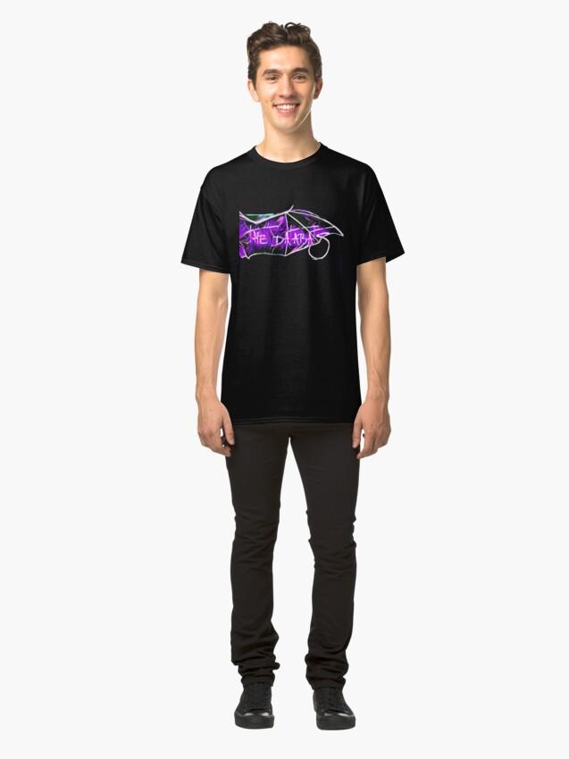 Alternate view of Databats Wing Logo Classic T-Shirt