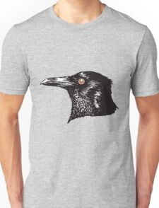 Inky Crow original pattern Unisex T-Shirt
