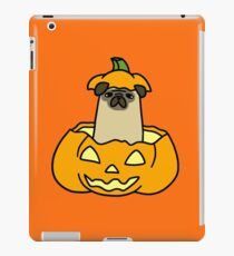 Jack O' Lantern Pug iPad Case/Skin