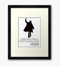 JOHN BENDER - THE BREAKFAST CLUB Framed Print