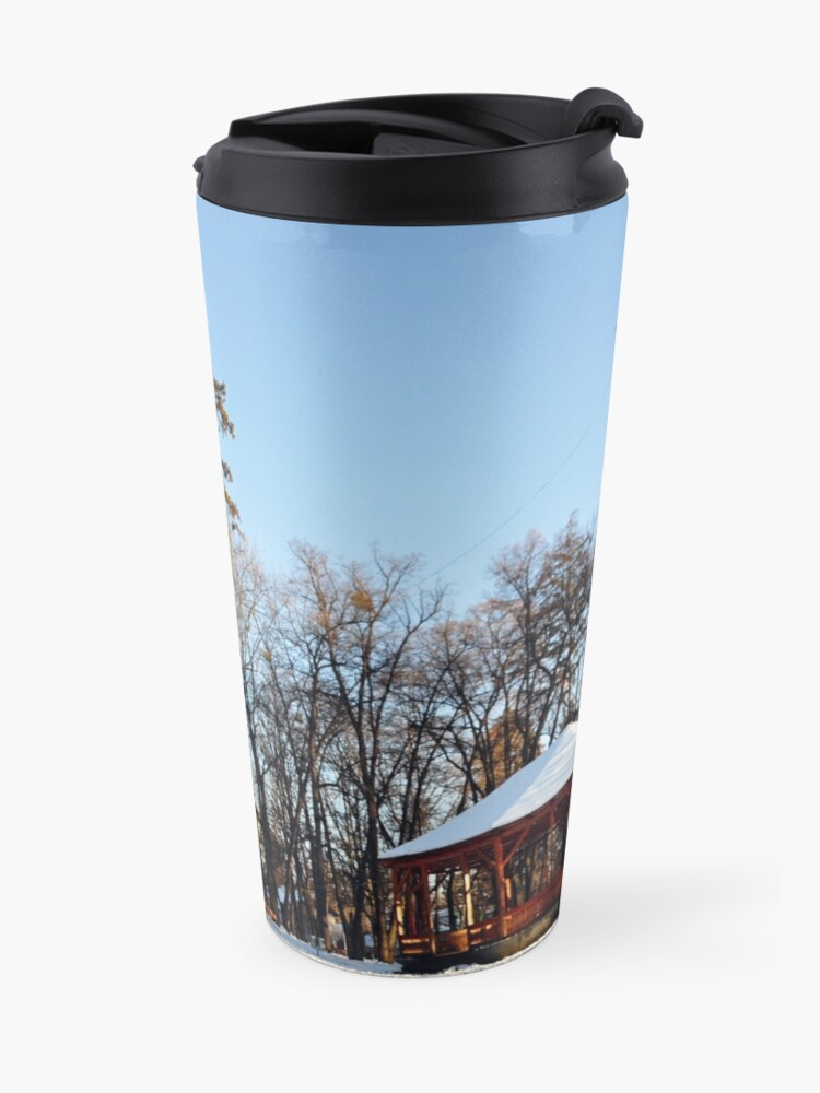 Alternate view of Winter tale Travel Mug